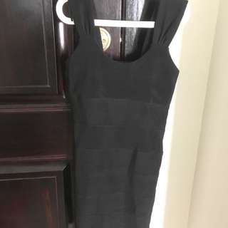 Ledger dress black