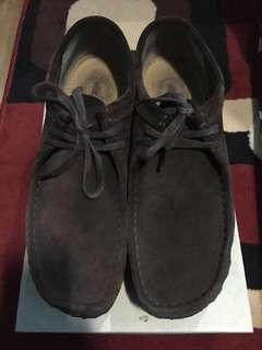 Clarks wallabee brown