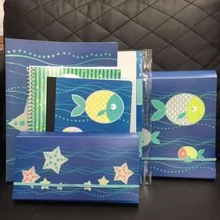 Stationery Gift Set - Ocean