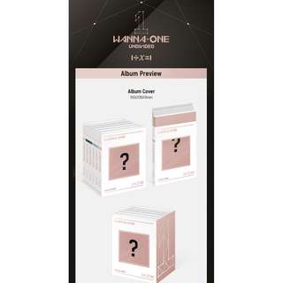 WANNA ONE 'UNDIVIDED' SPECIAL ALBUM