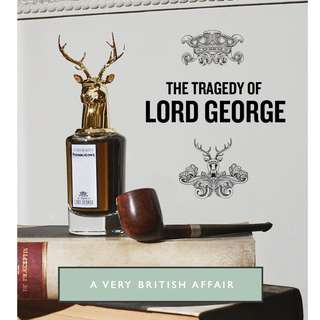 🆕 Penhaligon's ♣️♣️ The Tragedy of Lord George Eau De Parfum 75 ml