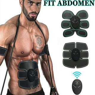 Abdomen Muscle Stimulator Training Toning Belt Body Shape Home Trainer ABS Toner