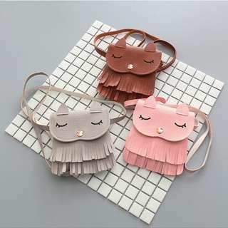 Kitten Tassel Massenger Bag