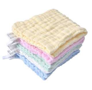 6 layers cotton towel washcloths