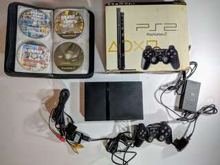 Playstation 2 Slim Modified