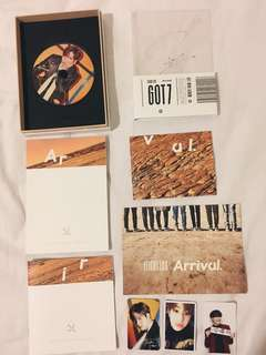 GOT7 - BAM BAM SIGNED ARRIVAL ALBUM