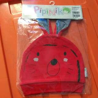 Kupluk baby pipiniko merah