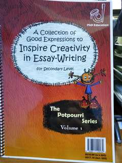A Collection of Good Expressions to Inspire Creativity in Essay-Writing for Secondary Level