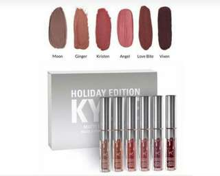 Kylie Cosmetics Matte Lipstick Holiday Set