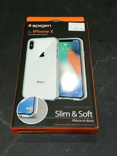 Spigen liquid Crystal For IPhone X