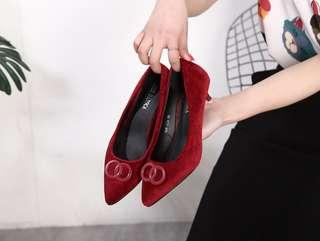 JOSE Daroca Kitten heels  Series # 328-229 #