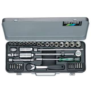"HEYCO Germany 3/8"" Socket & Bit Set"