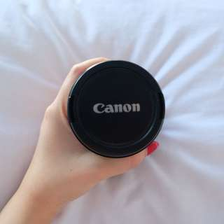 Lensa canon ef18-135mm good