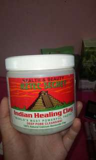 Indian Aztec Healing Clay