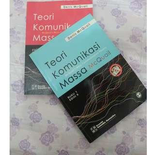 Teori Komunikasi Massa Mc Quail buku 1 ed.6