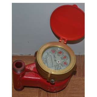 E-jet Hot Water Meter (Vertical - Up to 90°C)