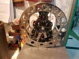 齒輪盤式座鐘