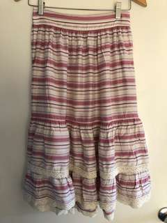 Vintage feel full skirt