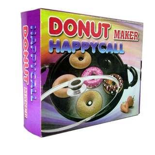 Cetakan kue donut donat maker anti lengket happy call