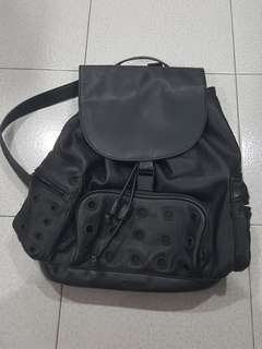 Topshop black backpack