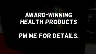 Award-winning health products #blessing