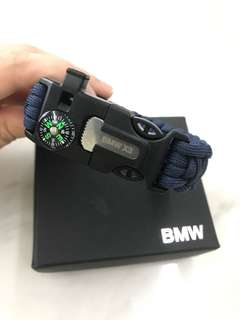 BMW Wristband with compass