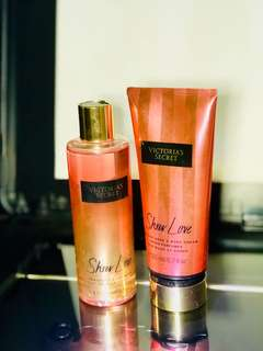 Sheer Love body wash and lotion
