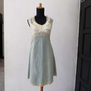 dress wanita motif