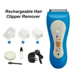 FREE POS Ready Stock Rechargeable Hair Clipper Ceramic Blade Remover Wireless Trimmer #list4sbux