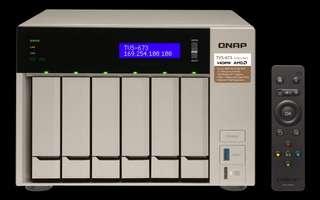 QNAP TVS-673 with 16GB Ram