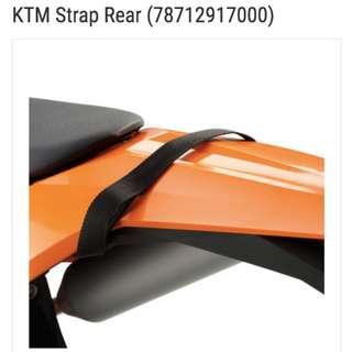 KTM Rear Strap