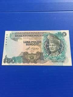 Malaysia RM50, AU