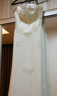 White Bridal Gown for ROM