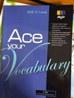 O level vocabulary