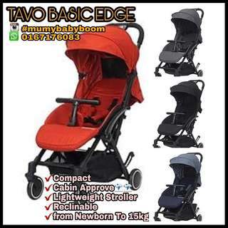 TAVO BASIC EDGE COMPACT STROLLER(OFFER NOW)