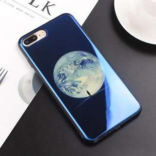 Electroplate Blue Light Soft Phone Cover