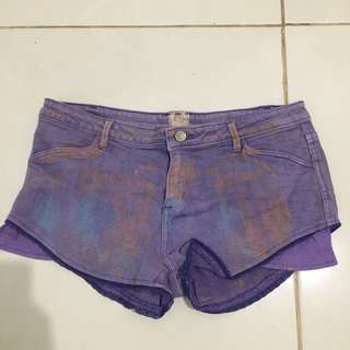 RIPCURL purple short pants