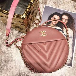 Chanel Round Crossbody Bag