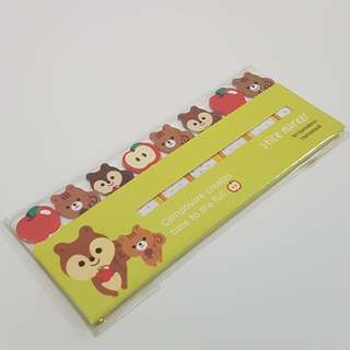 *BRAND NEW* Cute Squirrel Sticky Notes / Markers
