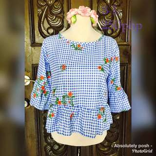 Bell blouse