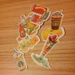 Themed Stickers (Per Set)
