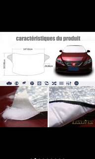 Car windshield sunshade protector