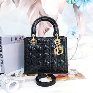 Lady Dior M With Strap!