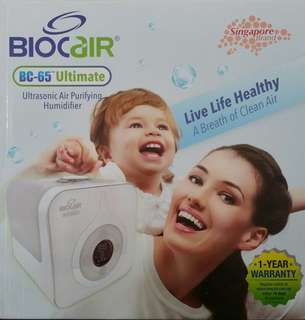 BIOCAIR Ultrasonic Air Purifier Humidifier