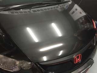 Civic fd bonnet 6D Carbon fiber wrap