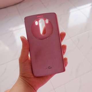 case handphone lg g3 pink