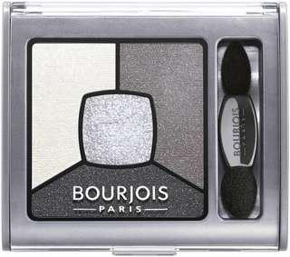 BOURJOIS Eyeshadow Quad Palette Smoky stories grey silver black shadow