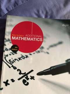 O level New Syllabus Additional Mathematics 9th Edition