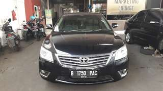 Toyota CAMRY G 2011 AT hlHitam Dp only 19jt