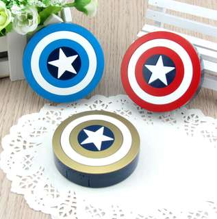 Captain America Shield Contact Lens Case